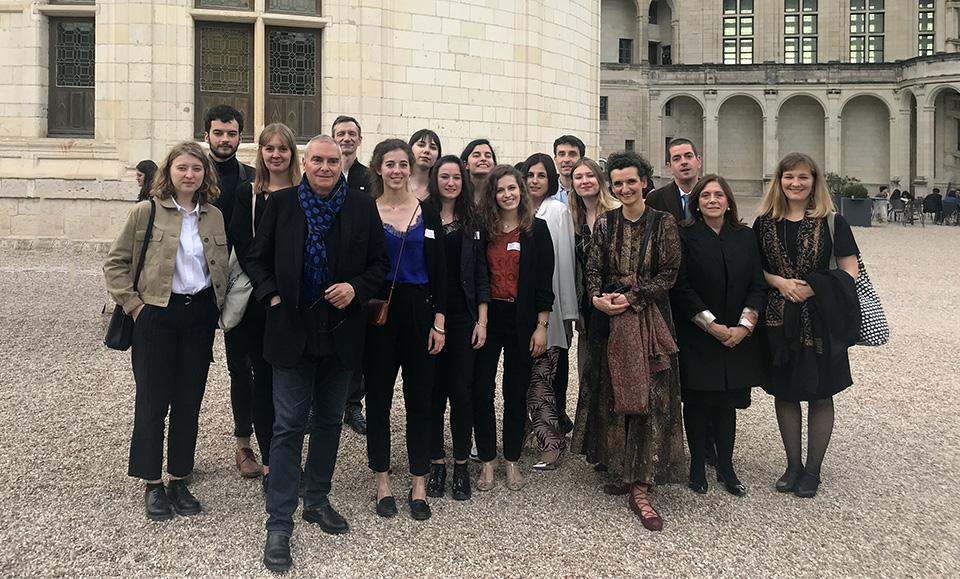 Vernissage de l'exposition Chambord