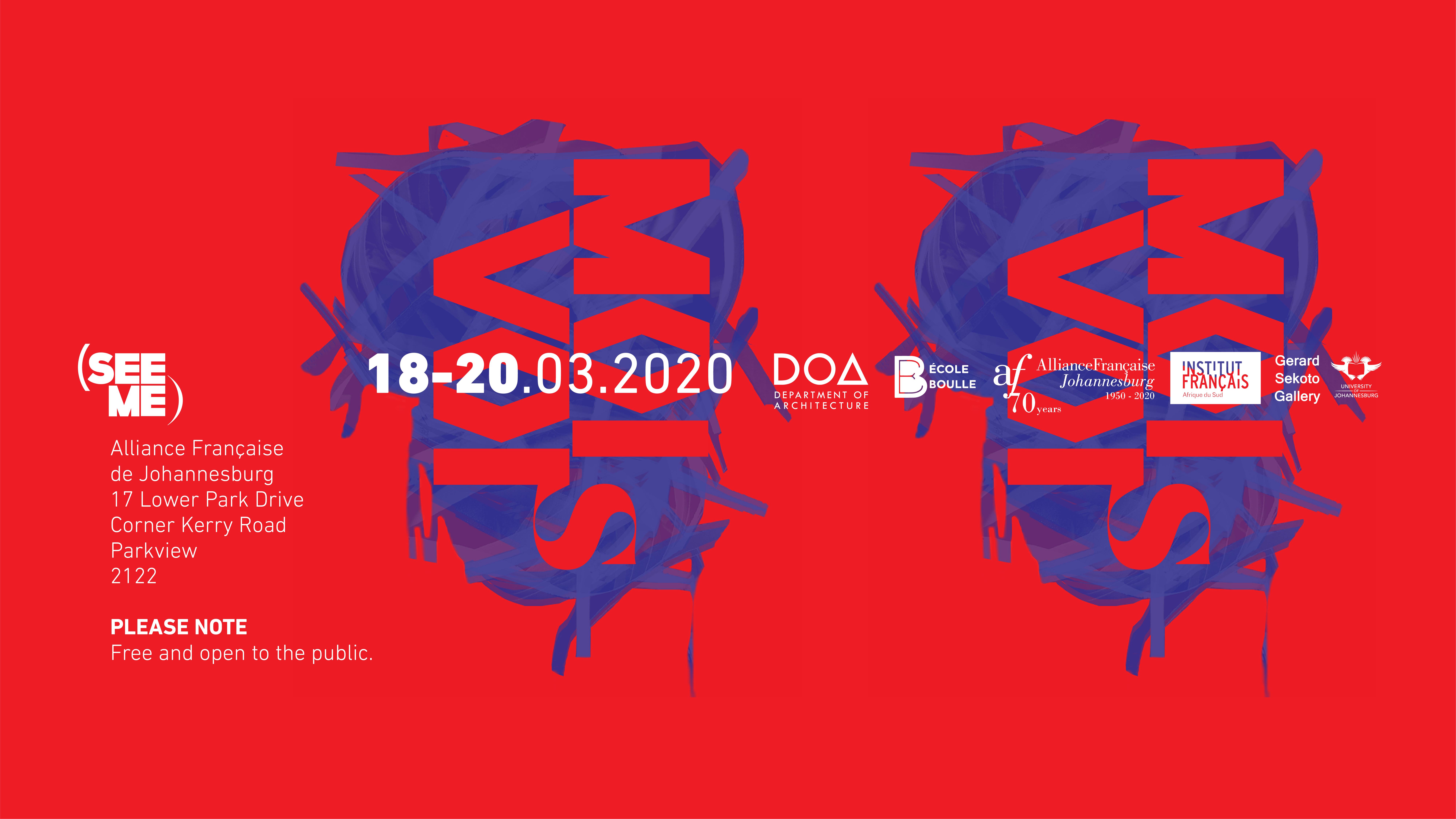 Exposition VOIS MOI (SEE ME) à l'Alliance française de Johannesburg, Afrique du Sud