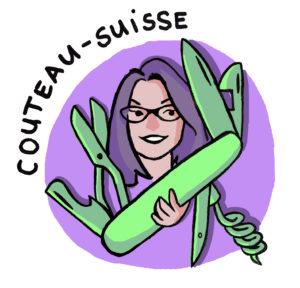 Read more about the article Interview avec Lydie Boulard, directrice artistique alias « couteau-suisse »