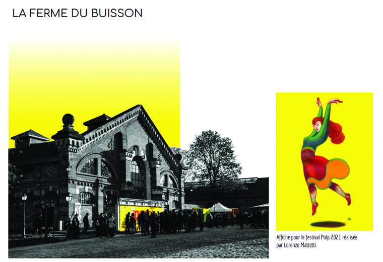 Read more about the article Les DNMADE1 Design d'Espace – Petite échelle architecturale ont présenté 6 projets de scénographie pour le festival de bande dessinée PULP